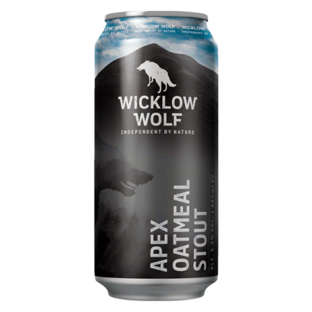 Wicklow Wolf Oatmeal Stout Can