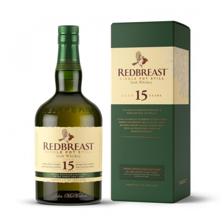 Red Breast 15 Year Old Single Pot Still
